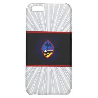 Monochrome Guam Flag Cover For iPhone 5C