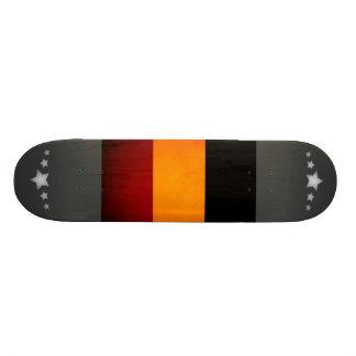 Monochrome Guinea Flag Skateboard Deck