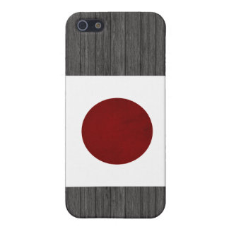 Monochrome Japan Flag Cases For iPhone 5