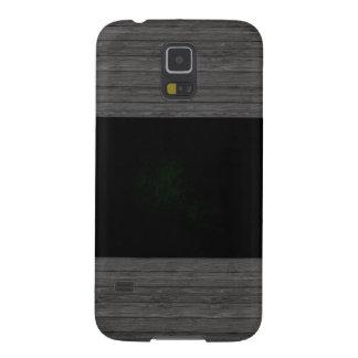 Monochrome Libya Flag Case For Galaxy S5