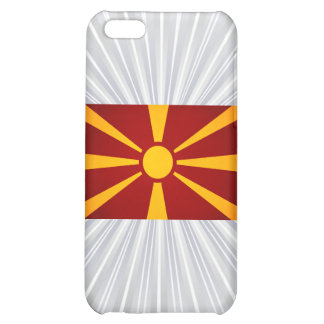 Monochrome Macedonia Flag iPhone 5C Cases