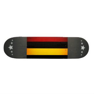 Monochrome Mauritius Flag Skate Board Deck