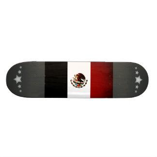 Monochrome Mexico Flag Skate Board Decks