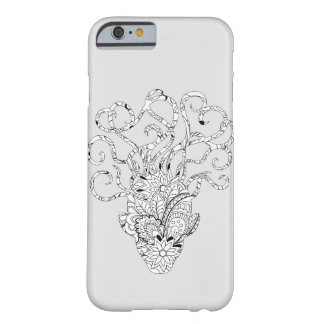 monochrome mystic animal barely there iPhone 6 case