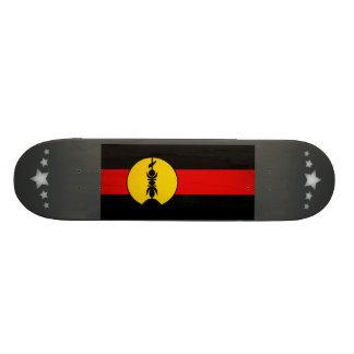 Monochrome New Caledonia Flag Skateboard Decks