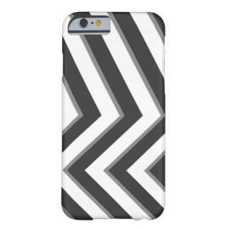 Monochrome Pattern Barely There iPhone 6 Case