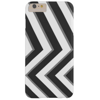 Monochrome Pattern Barely There iPhone 6 Plus Case