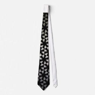 Monochrome pattern necktie