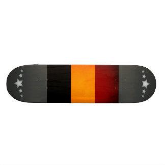 Monochrome Romania Flag Skate Decks