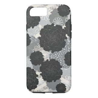 Monochrome Roses Phone Case