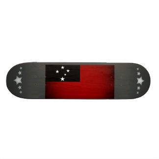 Monochrome Samoa Flag Skateboard Decks