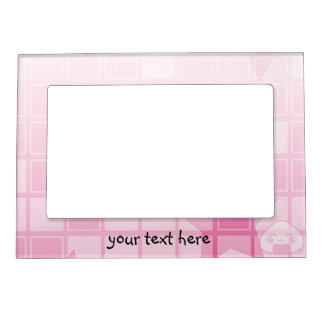 Monochrome Shyness! Picture Frame Magnets