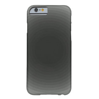 Monochrome simple grey/gray circle barely there iPhone 6 case