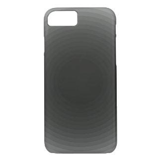 Monochrome simple grey/gray circle iPhone 7 case