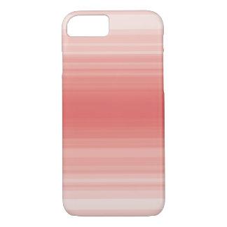 Monochrome simple red stripe iPhone 7 case