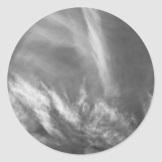 Monochrome Skies Sticker