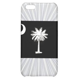 Monochrome South Carolina Flag iPhone 5C Cover