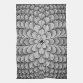 Monochrome Sphere Towels