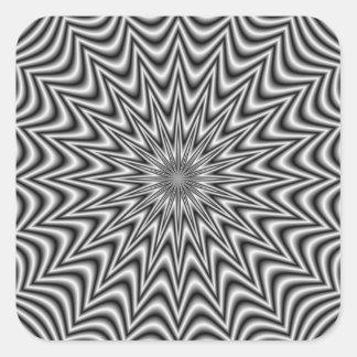 Monochrome Star Sticker