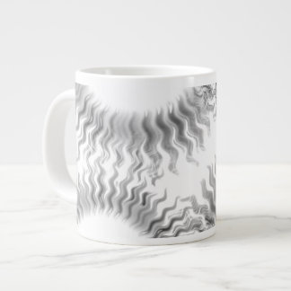 Monochrome Sun Wheel Mug - Jumbo