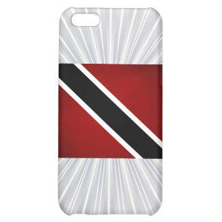 Monochrome Trinidad and Tobago Flag Cover For iPhone 5C