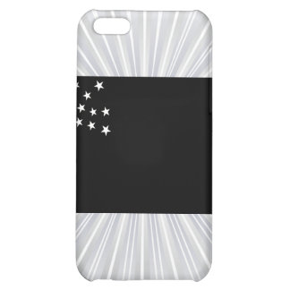 Monochrome Vermont Republic Flag iPhone 5C Cases
