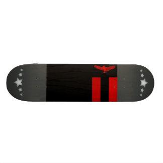 Monochrome Zambia Flag Skateboard Decks