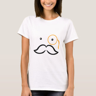 Monocle and Mustache T-Shirt