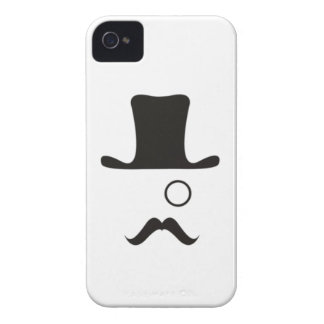Monocle Mystery Man Case-Mate iPhone 4 Case
