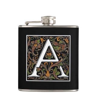Monogram A Color Flask