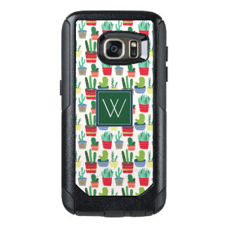 Monogram | A Crowd of Cactus OtterBox Samsung Galaxy S7 Case