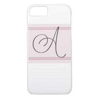 Monogram A iPhone 7 Case