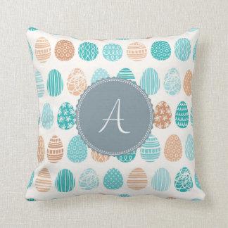 Monogram 'A' Throw Pillow