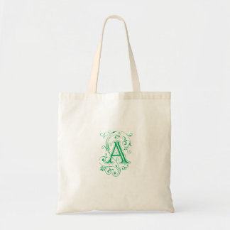 """Monogram """"A"""" Tote Tote Bag"""