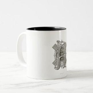 Monogram A Two Tone Mug