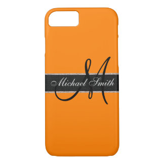 Monogram Amber (SAE-ECE) Color Background iPhone 7 Case