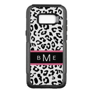 Monogram Animal Pattern OtterBox Commuter Samsung Galaxy S8+ Case