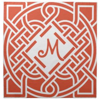 Monogram Any Color Celtic Knot Napkins