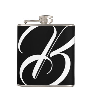 Monogram B Flask
