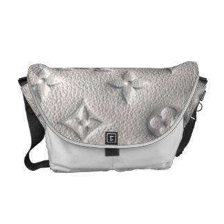 Monogram Bag - Grey Messenger Bag