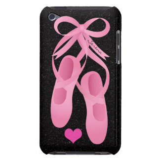 Monogram Ballet Pink Shoes iPod Touch Case