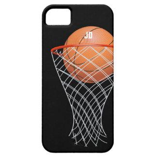 Monogram | Basketball Winner iPhone 5 Covers