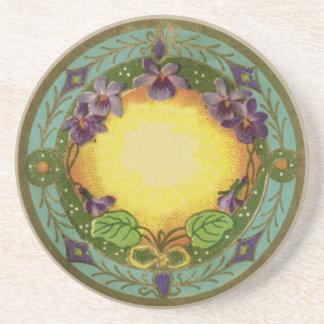 Monogram Belle Epoch French Violet Coaster