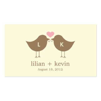 Browse the Wedding Business Cards Collection and personalise by colour, design or style.