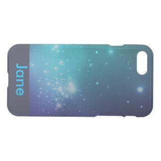 Monogram Blue Space Galaxy IPhone 7 case