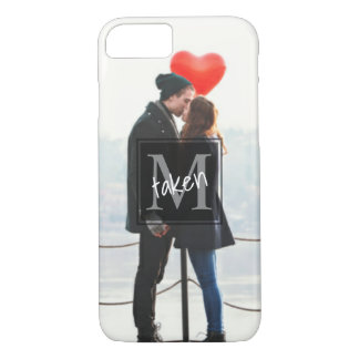 Monogram Boyfriend|Girlfriend Committed Couples iPhone 8/7 Case