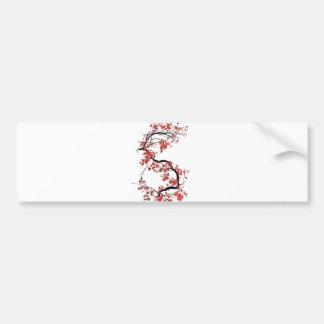 monogram bumper sticker