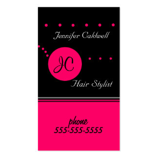 Monogram Business Card Template