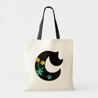 Monogram C Flower Budget Tote Tote Bag