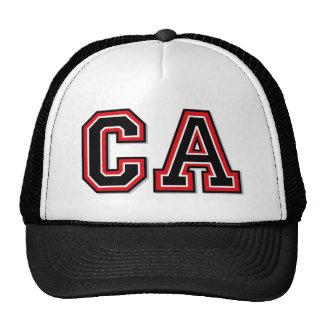 Monogram 'CA' initials Trucker Hat
